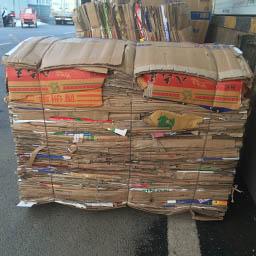 超市废纸壳打包机